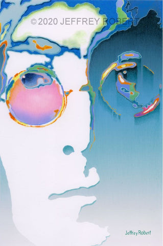 JOHN LENNON Limited Edition Canvas Giclee