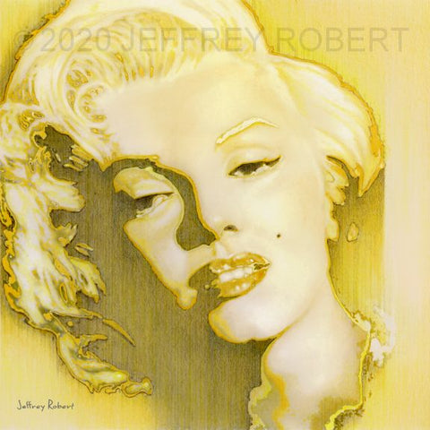 MARILYN Limited Edition Canvas Giclee