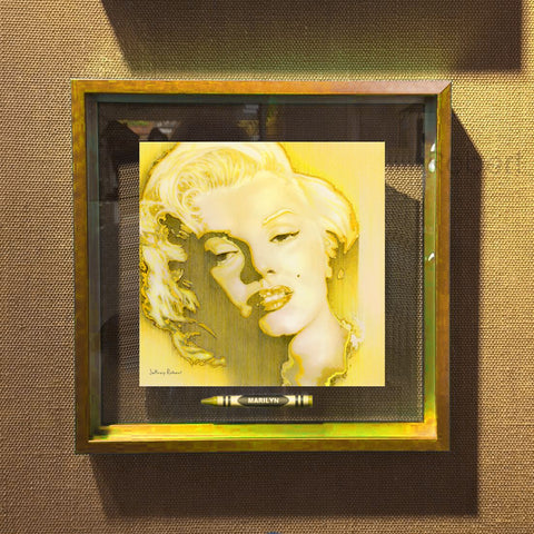 MARILYN MONROE POP CRAYON ART Crayon Collectible