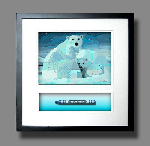 *New POLAR NIGHT Crayon Collectible Gift Line