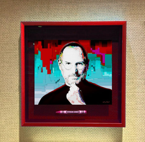 **NEW** STEVE JOBS POP CRAYON ART Crayon Collectible