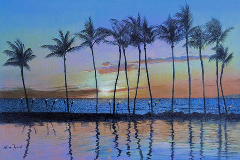 New! WAILEA SUNSET *Large sizes