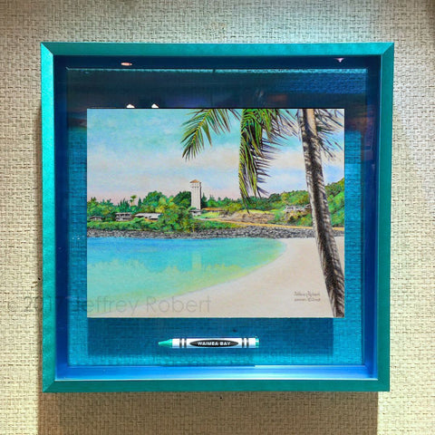 WAIMEA BAY Crayon Collectible