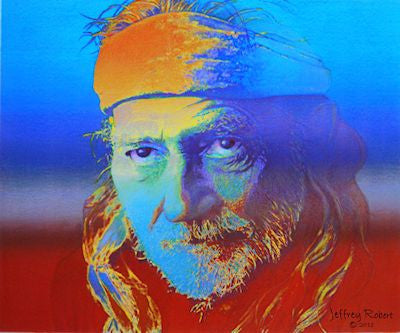 WILLIE NELSON POP CRAYON ART Crayon Collectible