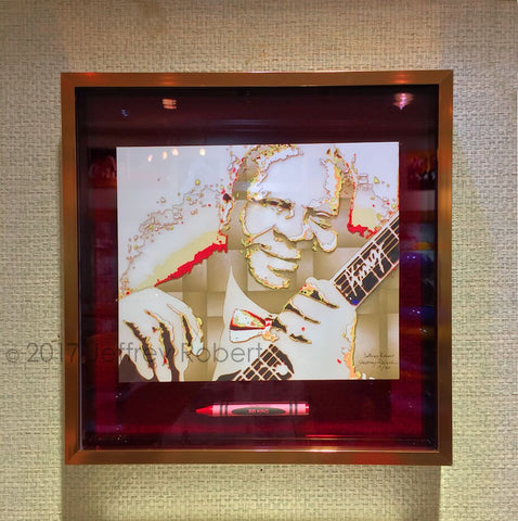 BB KING POP CRAYON ART Crayon Collectible