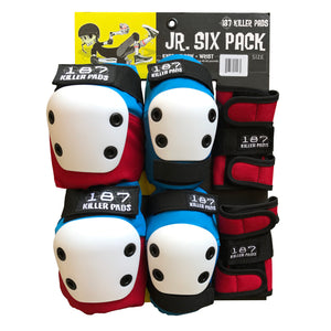 187 Killer Pads Jr. Six Pack Pad Set
