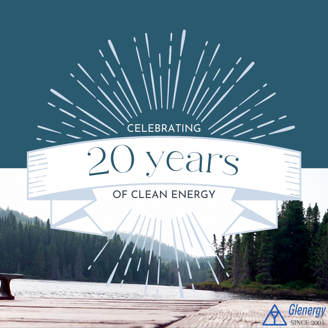 Celebrating 20 Years of Clean Energy!
