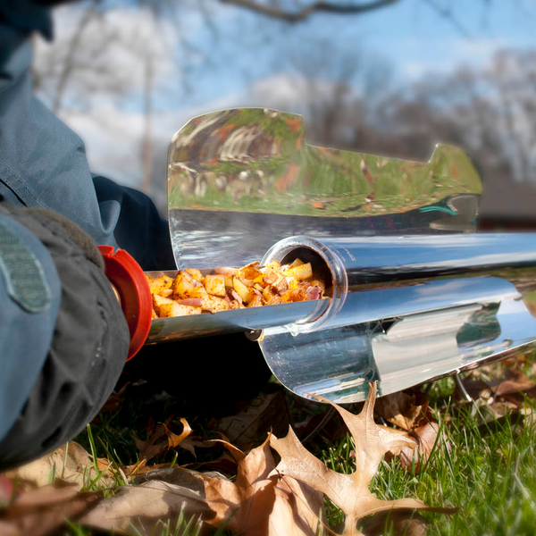 Small solar cooker design can have big implications