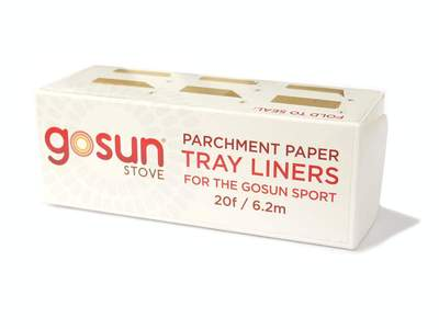 Parchment Tray Liners - 3 Pack (For GoSun Sport)