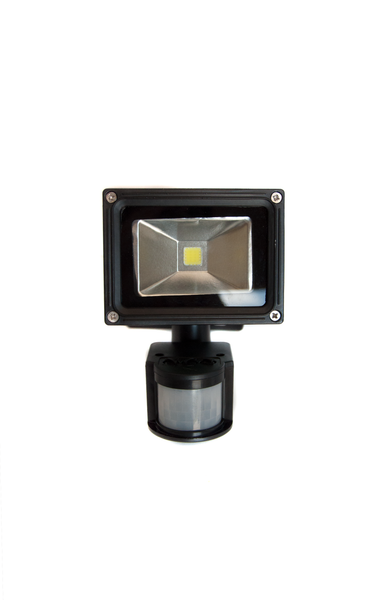 10W LED Floodlight & Motion Sensor Kit