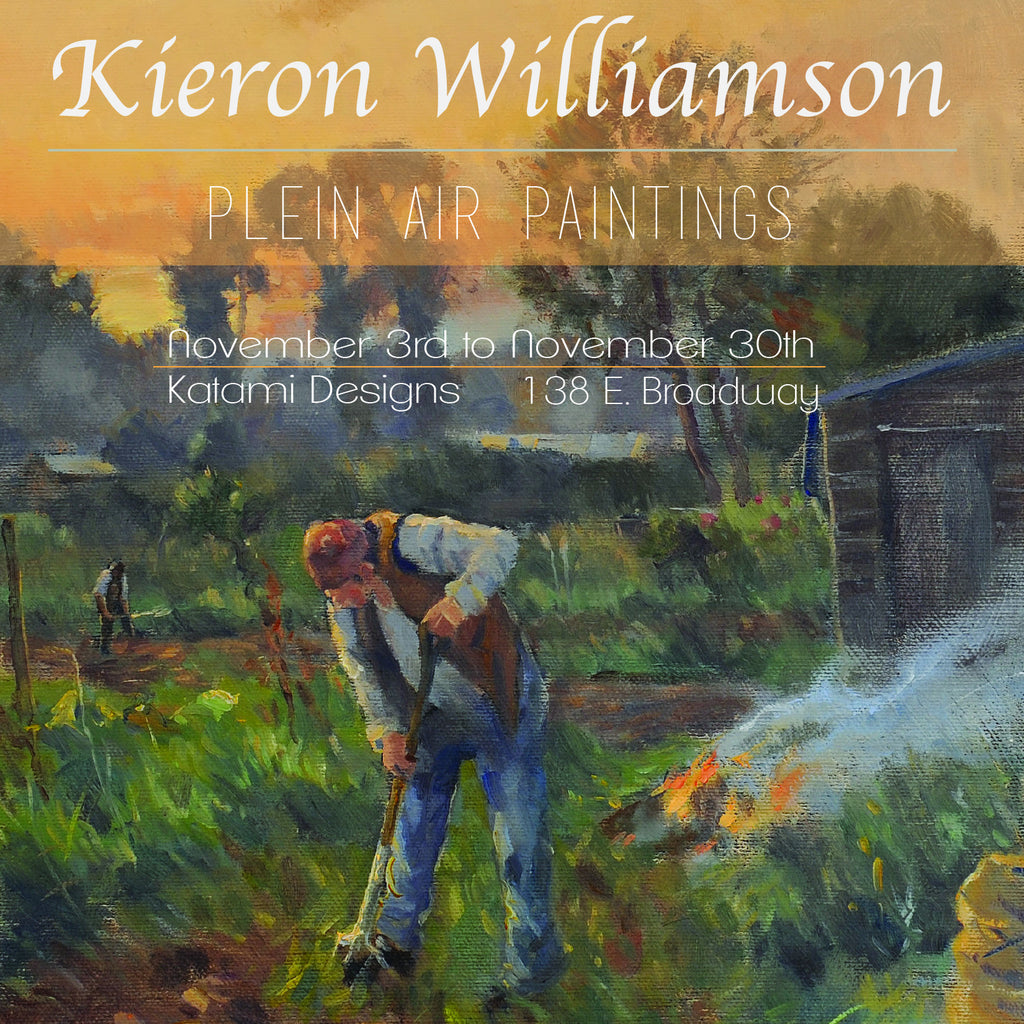 Kieron Williamson - Plein Air Paintings