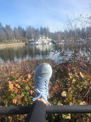 me time at Stanley park Vancouver bc