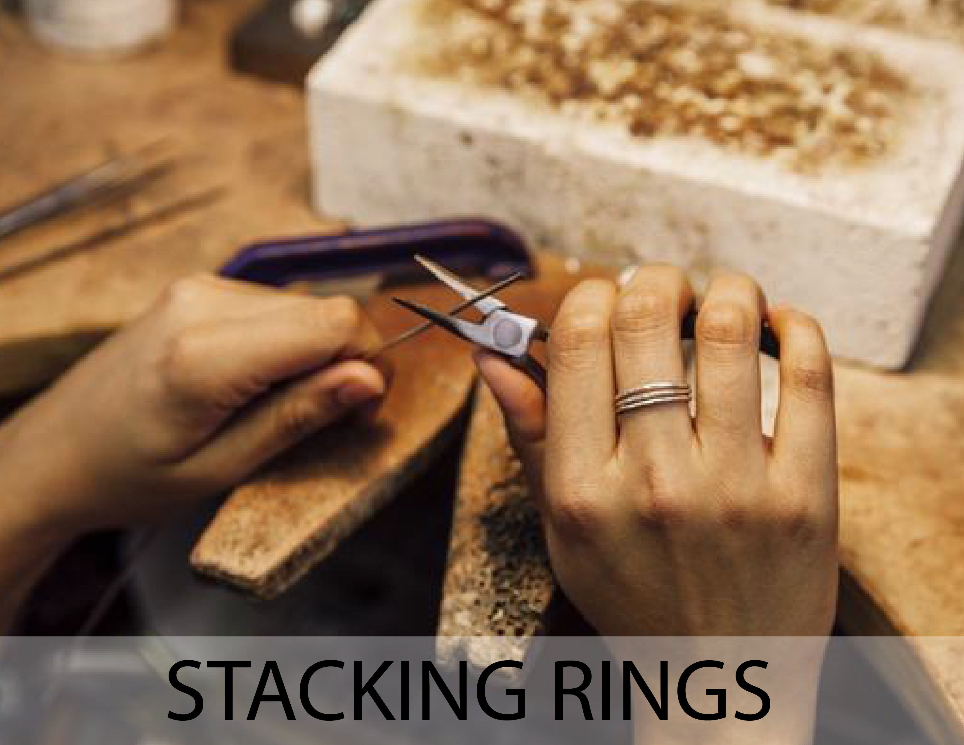Jewelry Making Class - Stacking Rings
