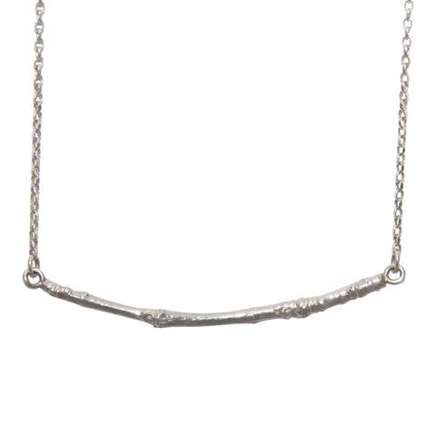bar necklace sterling silver Katami Designs Negar Khatami Vancouver bc stanley park branches