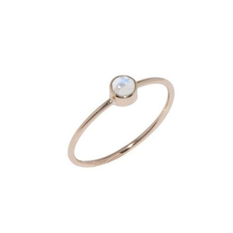 moonstone 14k solid gold katami designs vancouver jewelry designer custom order stacking ring