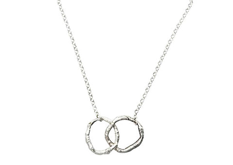 Sterling silver Stanley park branches nature jewellery vancouver jewellery designer katami designs jewelry necklace infinity custom made