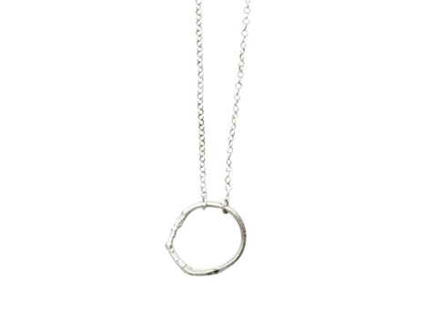 circle of life necklace sterling silver stanley park jewellery nature jewellery katami designs jewelry vancouver jewellery designer sterling silver custom made layering necklaces