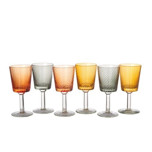 Library Wine Glass set of 6