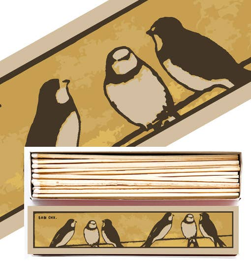 Swallows Long Matchbox