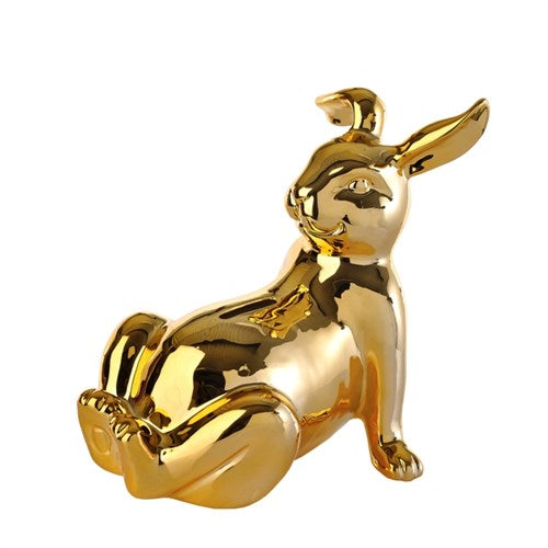 Moneybox Gold Bunny