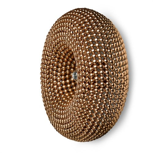 Dotted Copper Wall Lamp