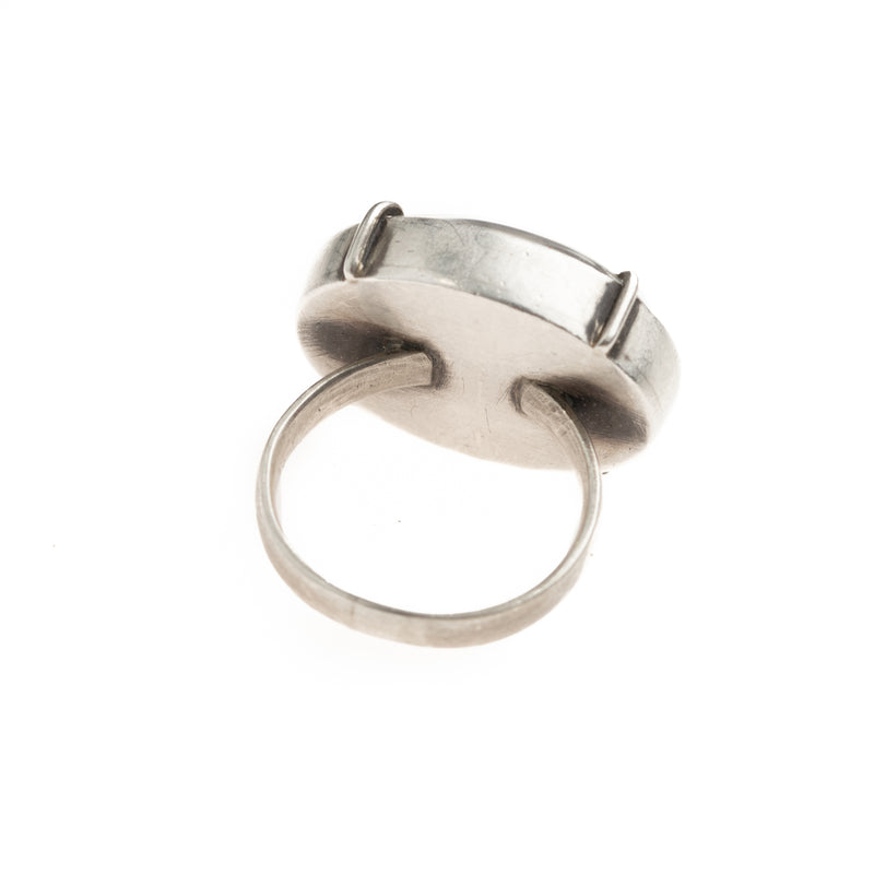Grouper Pierced Quartz Vanity Ring