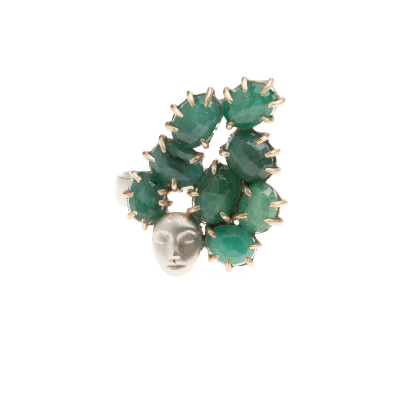 Daydreaming Coryphantha Emerald Lady Vanity Ring