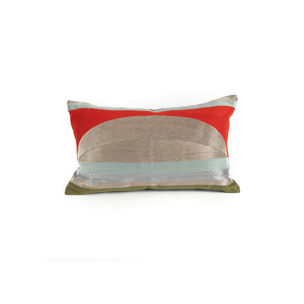 Sunrise Pillow - Persimmon