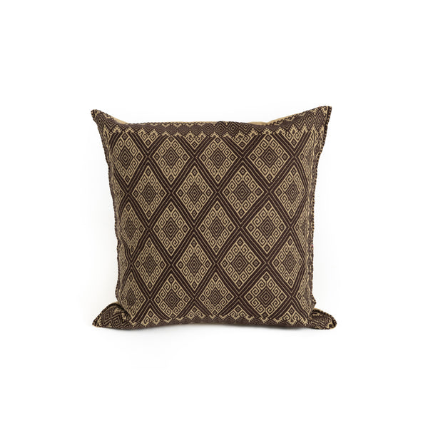 Mexican Throw Pillow - Diamond Pattern
