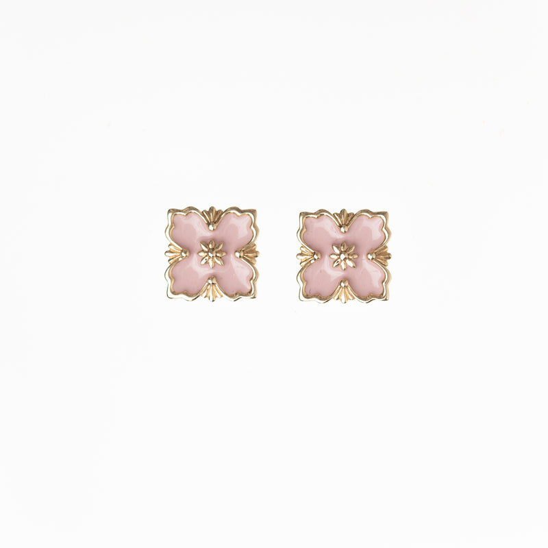 Cherry Blossom Stud Earrings