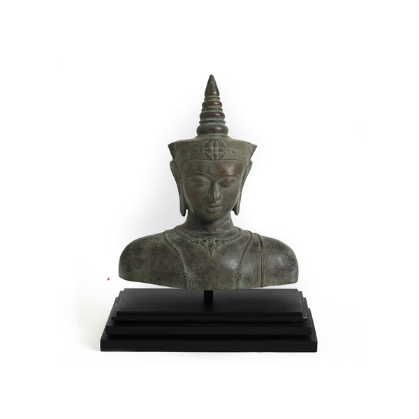 Thai Buddha Bust on Stand