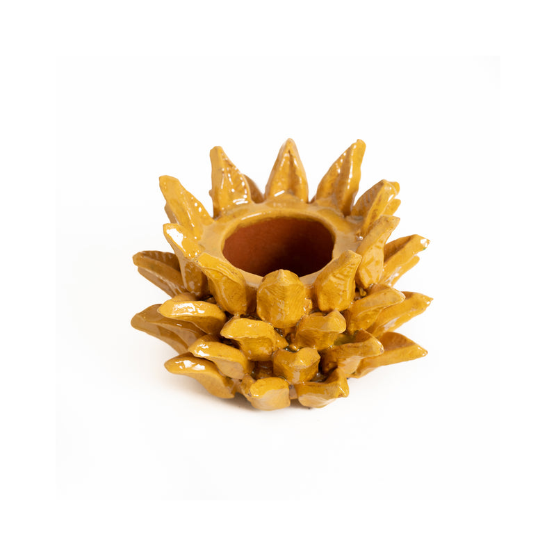 Pineapple Crown Candle Holder - Small