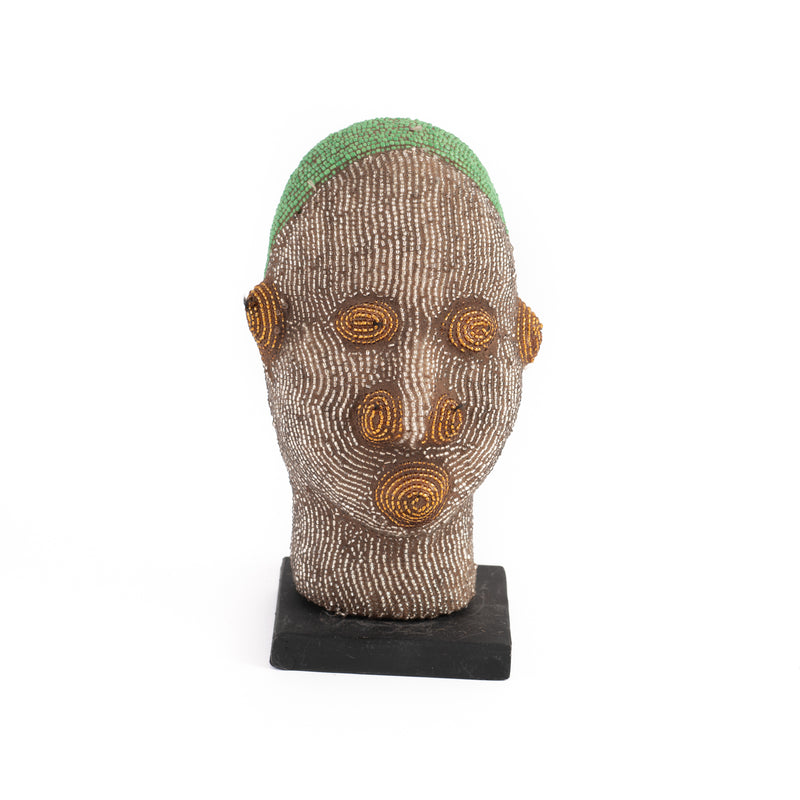 Moroccan Pottery Head - Extra Small Assorted