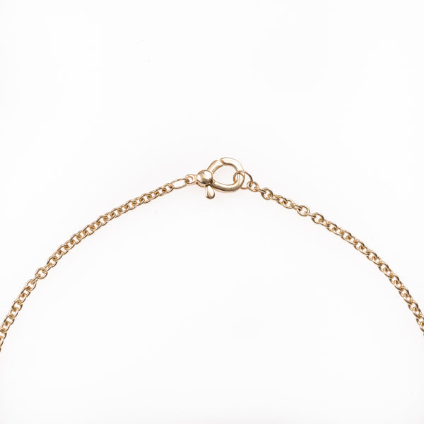 Simple Thick Gold Lobster Clasp Chain 18""