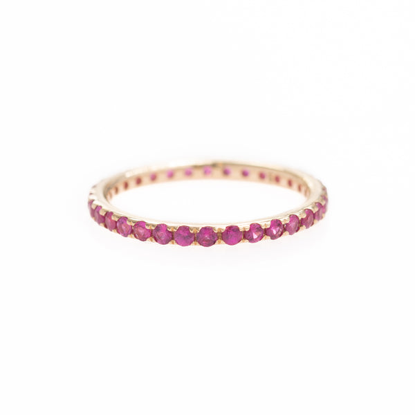 All Around Pink Sapphire Ring