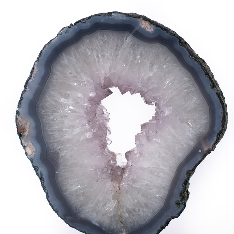 Amethyst Slice on Stand - 2.6 kg