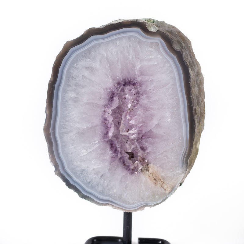Amethyst Slice on Stand - 1.922 kg