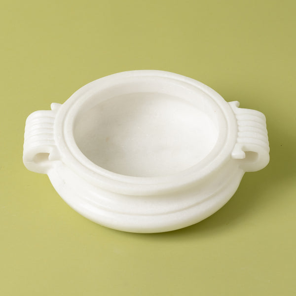 Marble Handle Urli Bowl