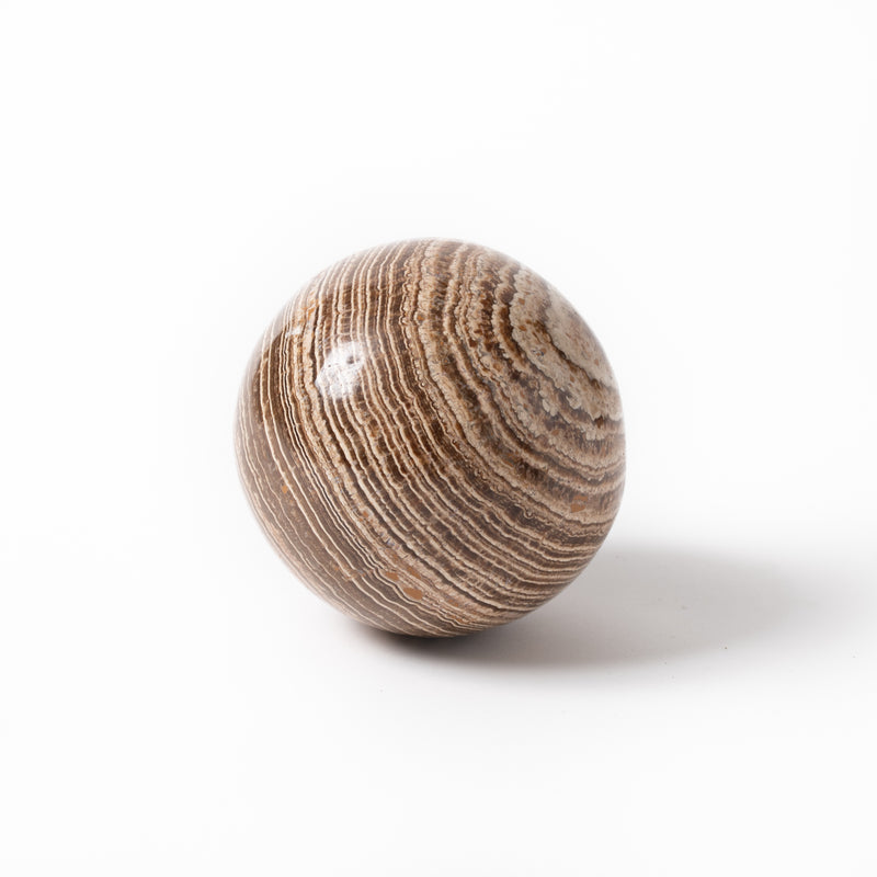 Polished Argonite Sphere