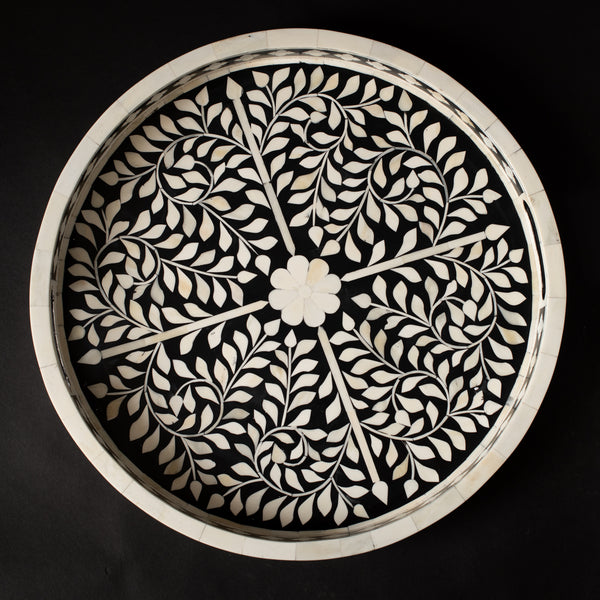 Mother of Pearl Circular Tray