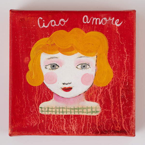 Ciao Amore 6''x6''