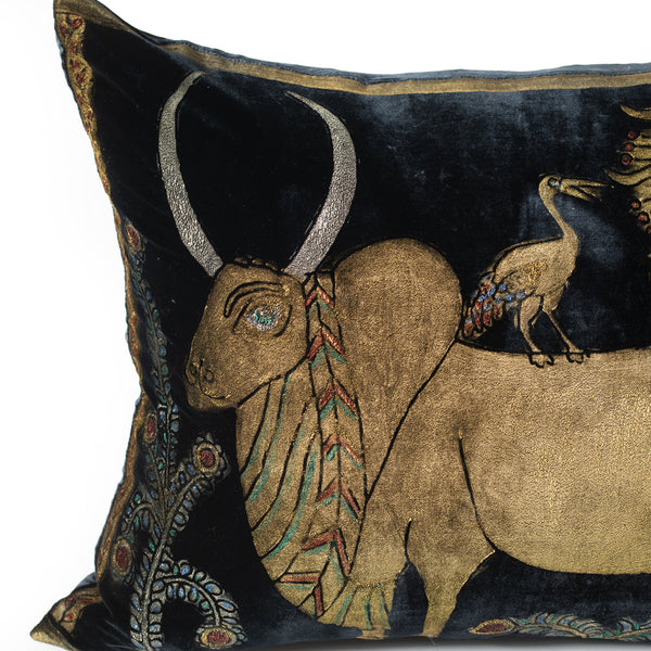Velvet Ox Pillow