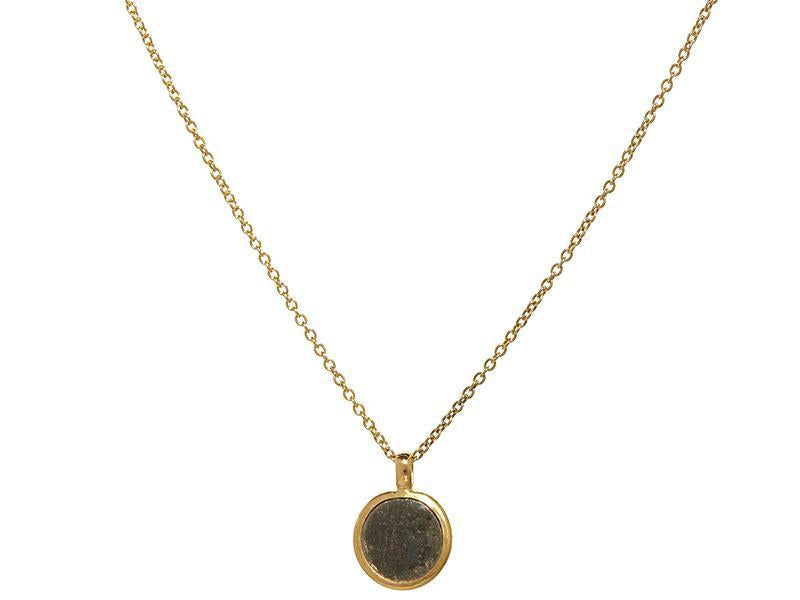 Antiquities Roman Coin Pendant Necklace