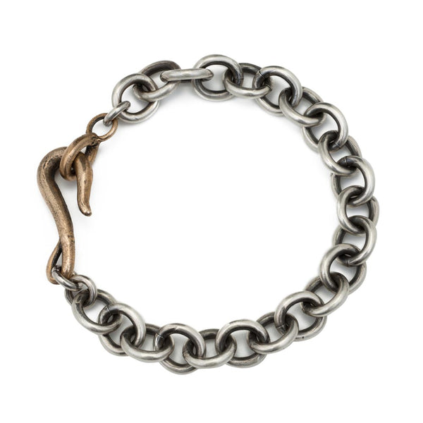 Signature Sterling Chain Layering Bracelet