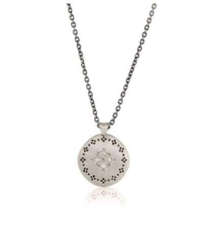 Diamond Nostalgia Four Star Pendant
