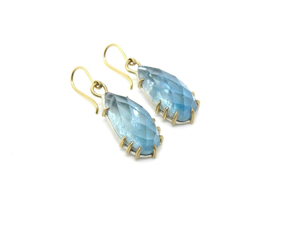 Aquamarine Kaleidoscope Vanity Earrings