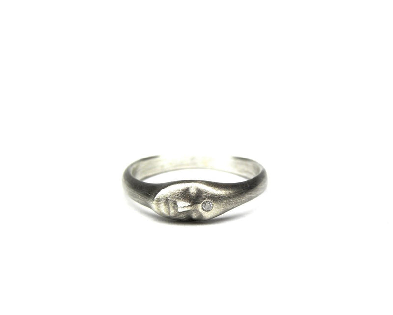 Little Grey Lady Cameo Ring