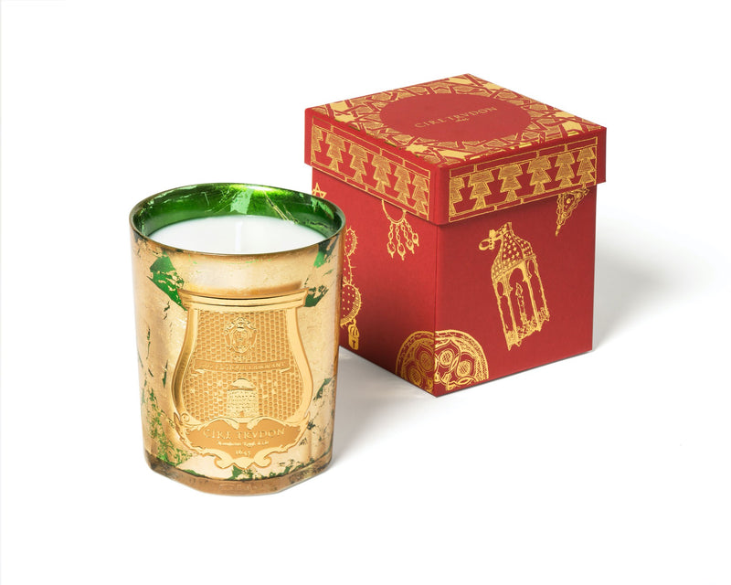 Gabriel - Gold & Emerald Candle