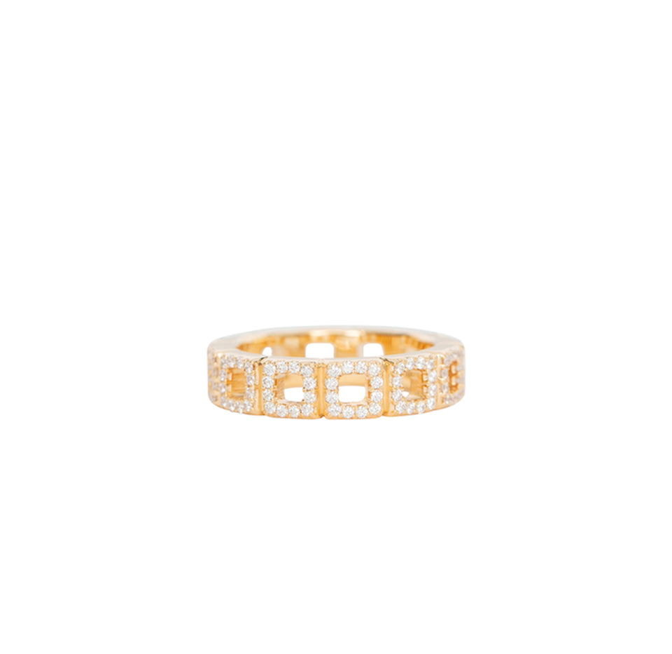 Diamond Square Eternity Band