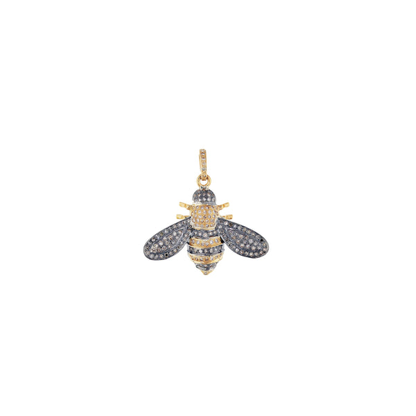 Sweet Gold & Sterling Silver Bee